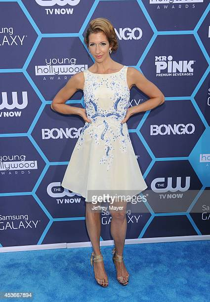 Actress Alysia Reiner arrives at the 16th Annual Young Hollywood Awards at The Wiltern on July 27 2014 in Los Angeles California