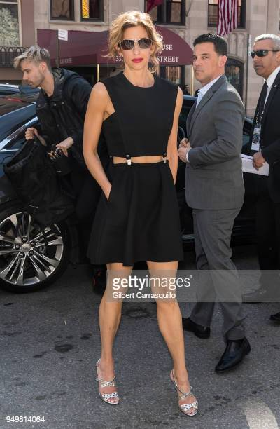 Actress Alysia Reiner arrives to the 'Egg' screening during 2018 Tribeca Film Festival at SVA Theatre on April 21 2018 in New York City