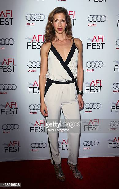 Actress Alysia Reiner attends AFI FEST 2014 presented by Audi Opening Night Gala Premiere of A24's A Most Violent Year at the Dolby Theatre on...