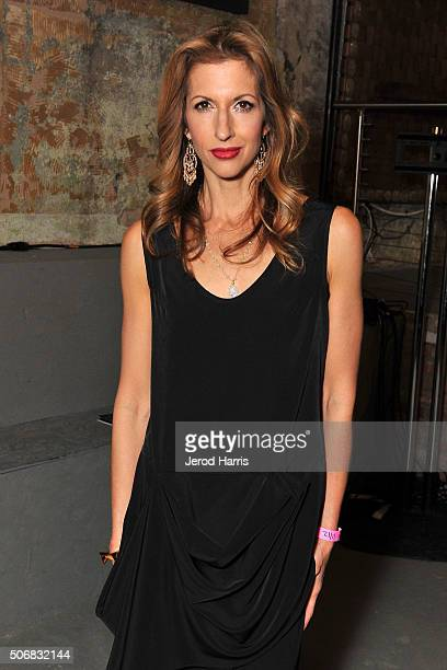 Actress Alysia Reiner attends ChefDance Park City 2016 Presented By Velocity Night 4 on January 25 2016 in Park City Utah