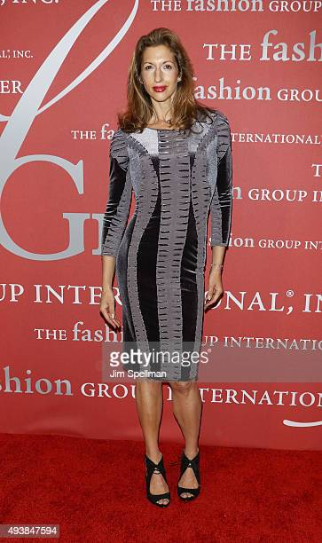 Actress Alysia Reiner attends the 2015 Fashion Group International's Night of Stars at Cipriani Wall Street on October 22 2015 in New York City