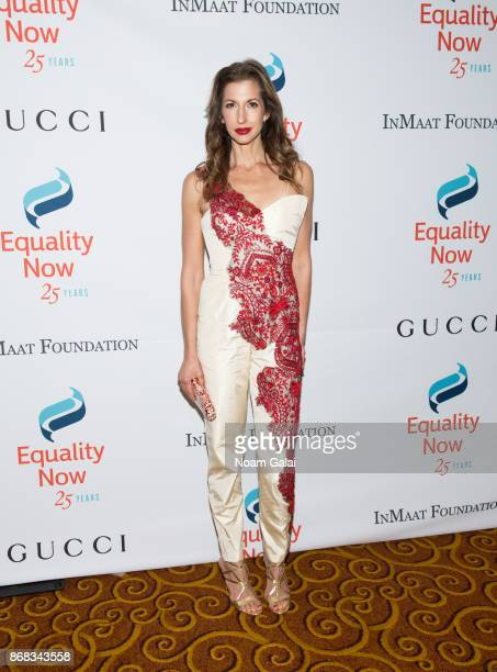 Actress Alysia Reiner attends the 2017 Equality Now Gala at Gotham Hall on October 30 2017 in New York City