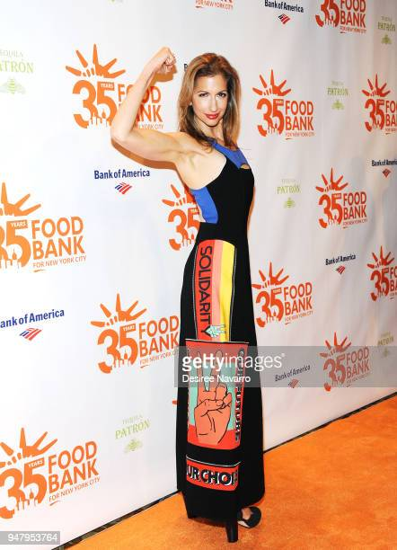 Actress Alysia Reiner attends the 2018 Food Bank For New York City's Can Do Awards Dinner at Cipriani Wall Street on April 17 2018 in New York City