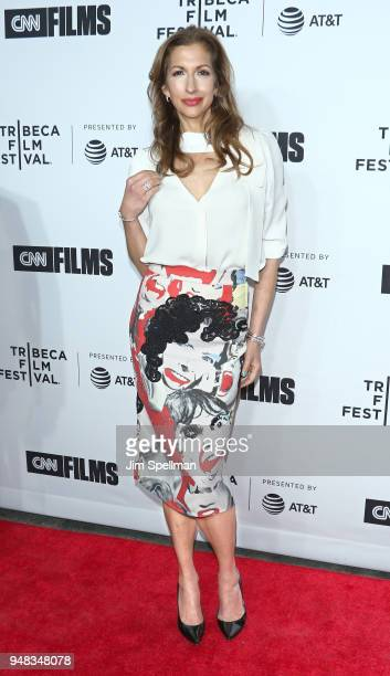 Actress Alysia Reiner attends the 2018 Tribeca Film Festival opening night premiere of Love Gilda at Beacon Theatre on April 18 2018 in New York City