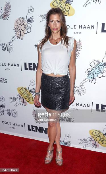 Actress Alysia Reiner attends The 2nd Anniversary Party for Lenny in partnership with Cole Haan at The Jane Hotel on September 15 2017 in New York...