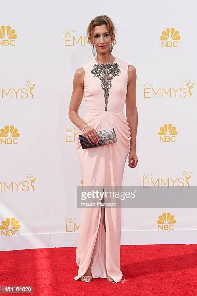 Actress Alysia Reiner attends the 66th Annual Primetime Emmy Awards held at Nokia Theatre LA Live on August 25 2014 in Los Angeles California
