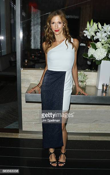 Actress Alysia Reiner attends the after party for Sony Pictures Classics' 'Equity' hosted by The Cinema Society with Bloomberg Thomas Pink at Sixty...