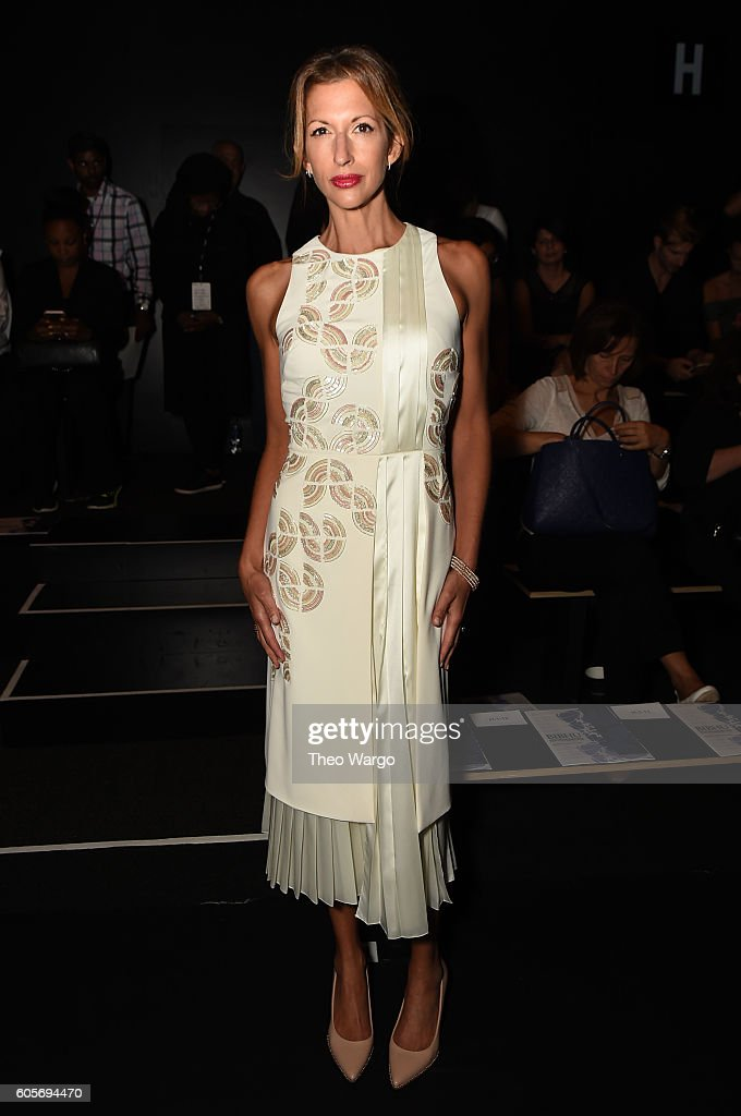 Bibhu Mohapatra - Front Row - September 2016 - New York Fashion Week: The Shows