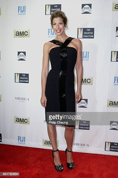Actress Alysia Reiner attends The Creative Coalition's Spotlight Initiative Awards Dinner during the 2014 Toronto International Film Festival at...