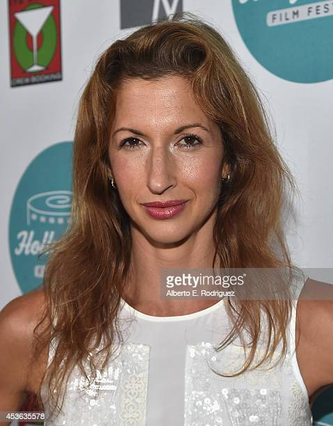 Actress Alysia Reiner attends the Hollyshorts 10th Anniversary Opening Night at The TCL Chinese Theatres on August 14, 2014 in Hollywood, California.