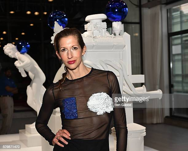 Actress Alysia Reiner attends the Jeff Koons x Google launch on May 09 2016 in New York New York