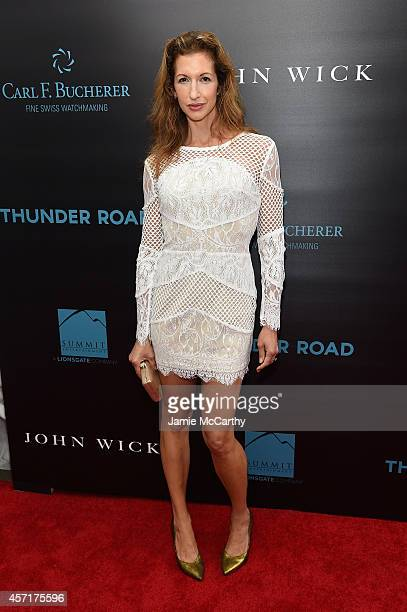 Actress Alysia Reiner attends the 'John Wick' New York Premiere at Regal Union Square Theatre Stadium 14 on October 13 2014 in New York City