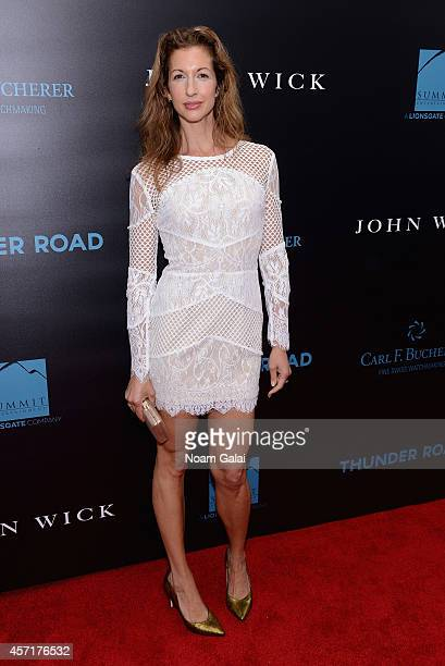 Actress Alysia Reiner attends the John Wick New York Premiere at Regal Union Square Theatre Stadium 14 on October 13 2014 in New York City