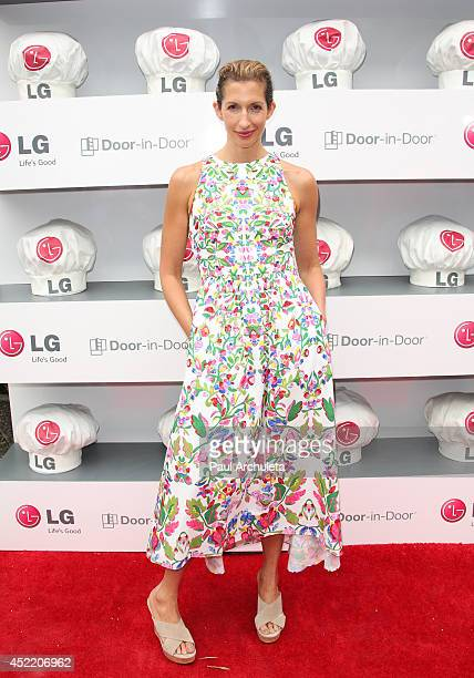 Actress Alysia Reiner attends the Junior Chef Academy event at The Washbow on July 15 2014 in Culver City California
