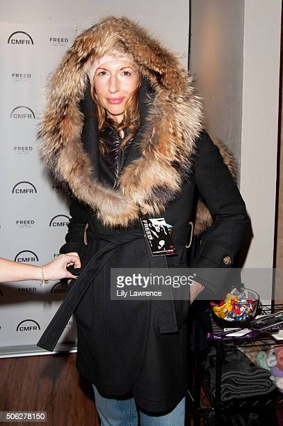 Actress Alysia Reiner attends the Kari Feinstein's Style Lounge on January 22 2016 in Park City Utah
