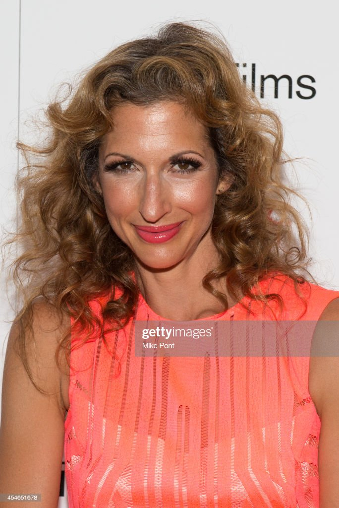 Actress Alysia Reiner attends the 'Kelly And Cal' New York Screening at Crosby Street Hotel on September 4, 2014 in New York City.