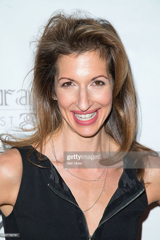 Actress Alysia Reiner attends the 'Orange Is The New Black - My Year In Women's Prison' charity book shopping experience at Carlton Hotel on December 18, 2013 in New York City.
