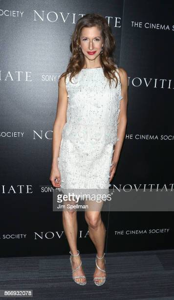 Actress Alysia Reiner attends the screening of Sony Pictures Classics' Novitiate hosted by Miu Miu and The Cinema Society at The Landmark at 57 West...