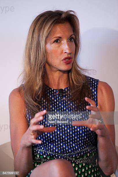 Actress Alysia Reiner attends the Unilever's #unstereotype panel discussion on portrayals of gender in advertising at the Cannes Lions Creative...
