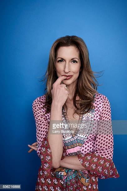 Actress Alysia Reiner poses for a portrait at the Tribeca Film Festival on April 18 2016 in New York City
