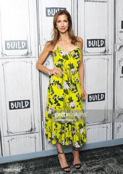 Actress Alysia Reiner visits Build Series to discuss the TV series 'Orange is the New Black' at Build Studio on July 30 2018 in New York City