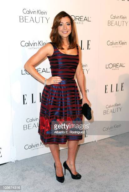 Actress Alyson Hannigan arrives at ELLE's 17th Annual Women in Hollywood Tribute at The Four Seasons Hotel on October 18, 2010 in Beverly Hills,...