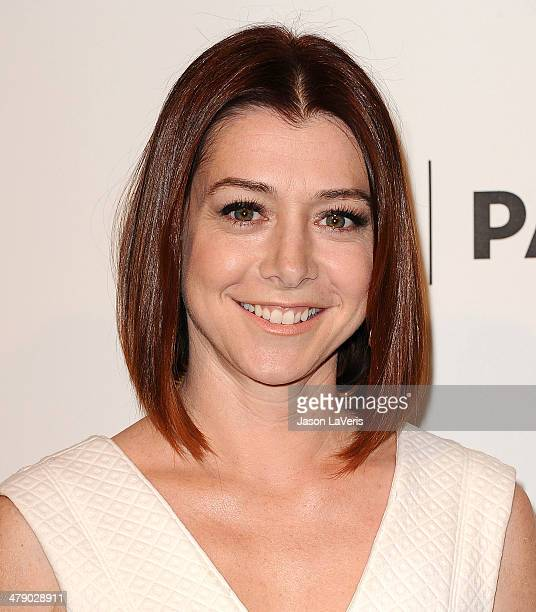 Actress Alyson Hannigan attends the 'How I Met Your Mother' series farewell event at the 2014 PaleyFest at Dolby Theatre on March 15 2014 in...