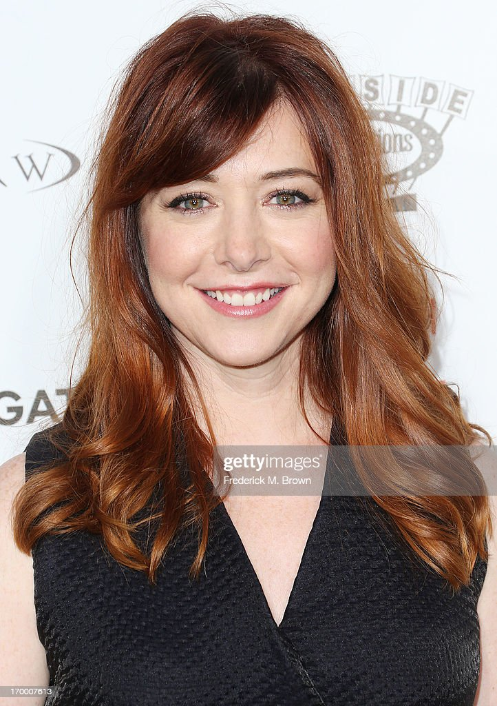 Actress Alyson Hannigan attends the screening of Lionsgate and Roadside Attractions' 'Much Ado About Nothing' at Oscar's Outdoors Hollywood theater on June 5, 2013 in Hollywood, California.