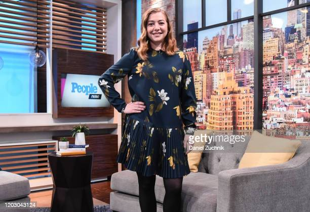 Actress Alyson Hannigan visits People Now on January 30 2020 in New York United States