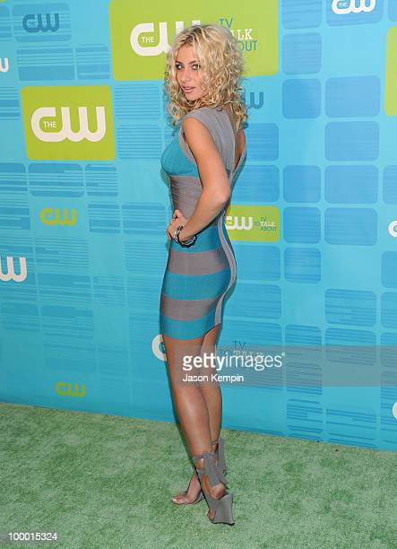 Actress Alyson Michalka attends the 2010 The CW Network UpFront at Madison Square Garden on May 20 2010 in New York City