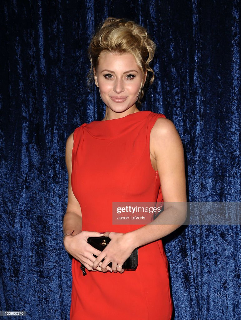 Actress Alyson Michalka attends the 'Super 8' blu-ray and DVD release party at AMPAS Samuel Goldwyn Theater on November 22, 2011 in Beverly Hills, California.