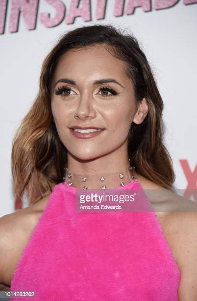 Actress Alyson Stoner arrives at Netflix's 'Insatiable' Season 1 Premiere at ArcLight Hollywood on August 9 2018 in Hollywood California