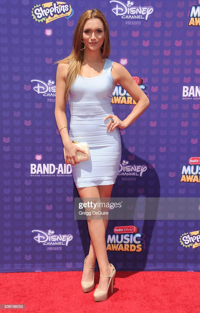Actress Alyson Stoner arrives at the 2016 Radio Disney Music Awards at Microsoft Theater on April 30, 2016 in Los Angeles, California.