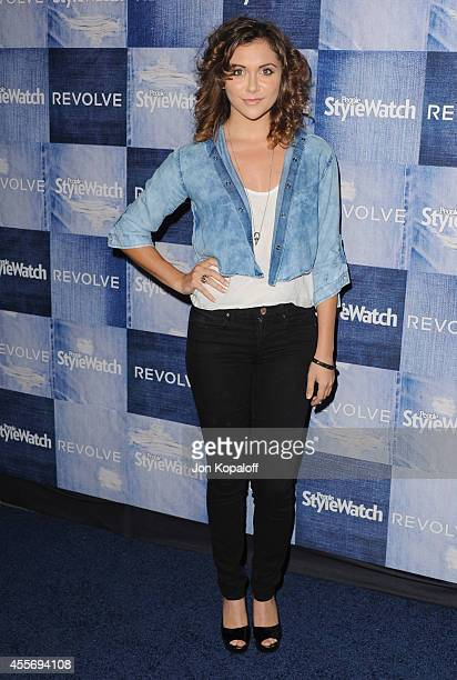 Actress Alyson Stoner arrives at the People StyleWatch 4th Annual Denim Awards Issue at The Line on September 18, 2014 in Los Angeles, California.