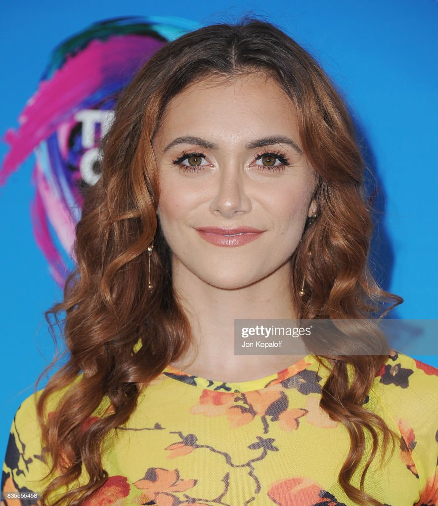 Actress Alyson Stoner arrives at the Teen Choice Awards 2017 at Galen Center on August 13, 2017 in Los Angeles, California.