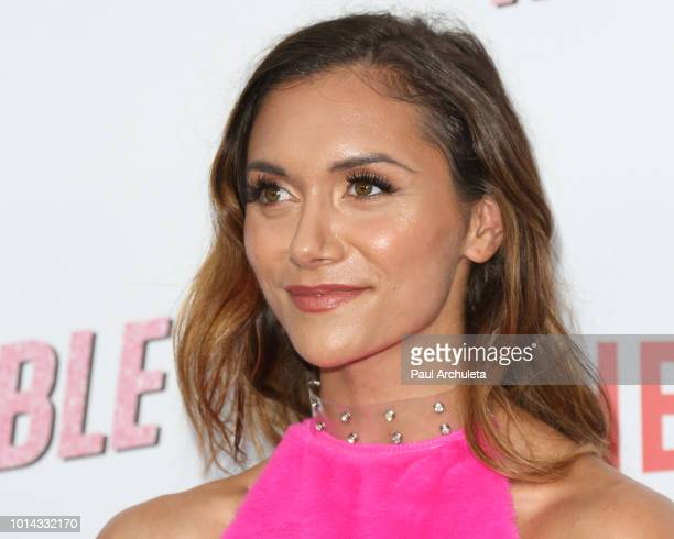Actress Alyson Stoner attends Netflix's 'Insatiable' season 1 premiere at ArcLight Hollywood on August 9 2018 in Hollywood California