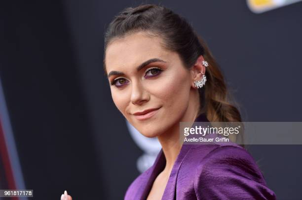 Actress Alyson Stoner attends the 2018 Billboard Music Awards at MGM Grand Garden Arena on May 20 2018 in Las Vegas Nevada