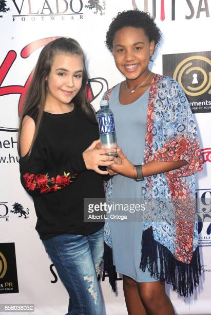 Actress Alyssa de Boisblanc and Jillian Estell attend Hunter Payton's 13th Birthday Bash held at a private location on October 4 2017 in Simi Valley...