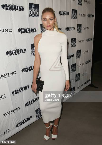 Actress Alyssa Julya Smith attends the Los Angeles Premiere of 'Jackals' on August 29 2017 in Hollywood California