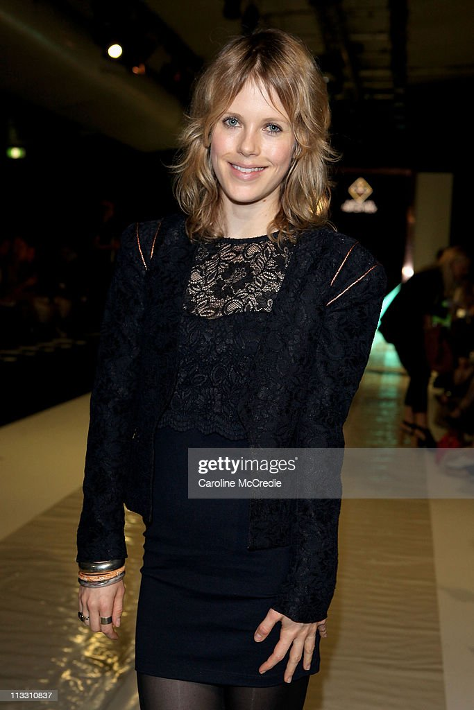Actress Alyssa McClelland arrives at the Bec & Bridge show during Rosemount Australian Fashion Week Spring/Summer 2011/12 at Overseas Passenger Terminal on May 2, 2011 in Sydney, Australia.