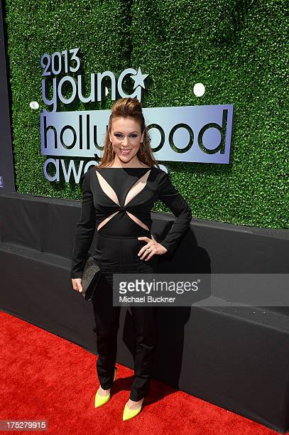 Actress Alyssa Milano attends CW Network's 2013 Young Hollywood Awards presented by Crest 3D White and SodaStream held at The Broad Stage on August 1...