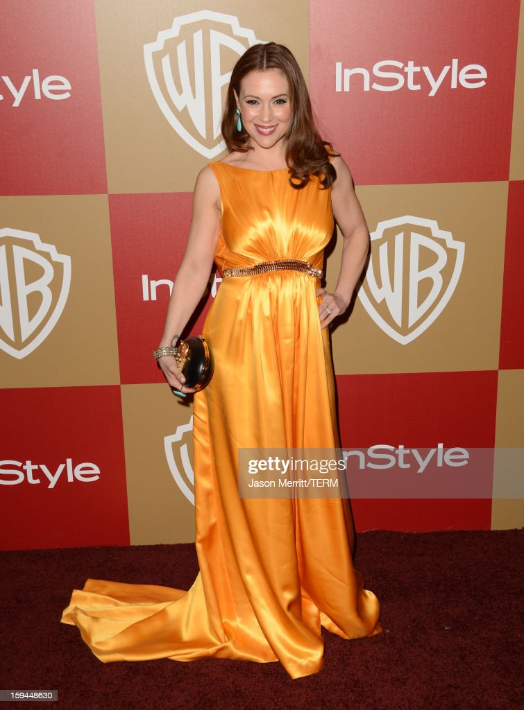 14th Annual Warner Bros. And InStyle Golden Globe Awards After Party - Arrivals : News Photo