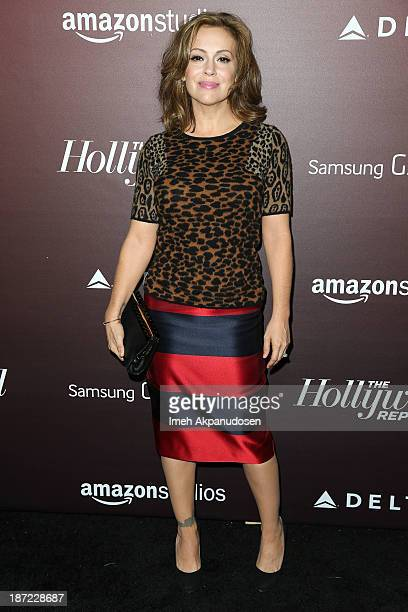 Actress Alyssa Milano attends The Hollywood Reporter's 'Next Gen' 20th Anniversary Gala at Hammer Museum on November 6 2013 in Westwood California