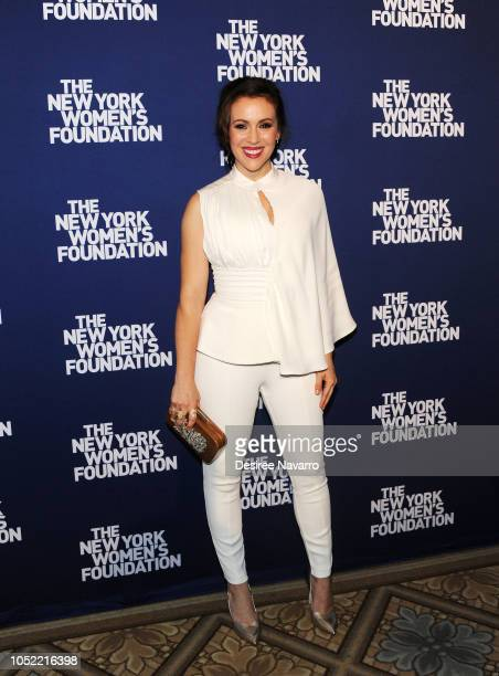 Actress Alyssa Milano attends The New York Women's Foundation Radical Generosity 2018 Gala at The Plaza Hotel on October 15 2018 in New York City