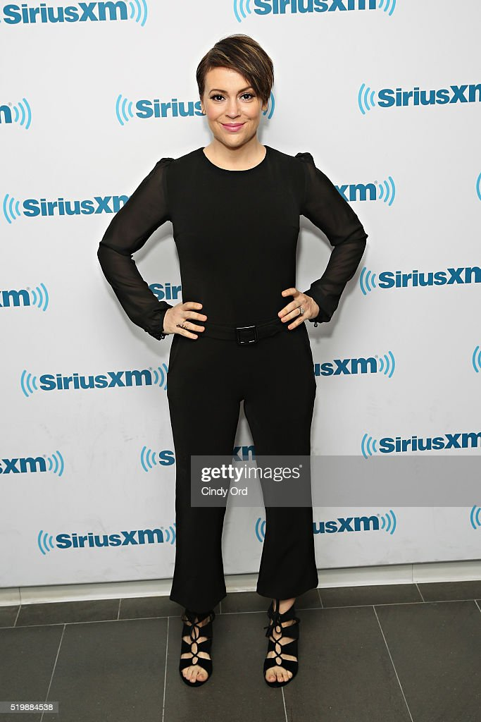 Celebrities Visit SiriusXM - April 8, 2016