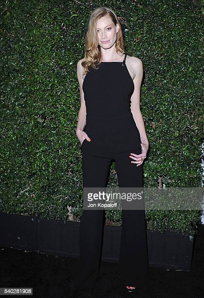 Actress Alyssa Sutherland arrives at Max Mara Celebrates Natalie DormerThe 2016 Women In Film Max Mara Face Of The Future at Chateau Marmont on June...