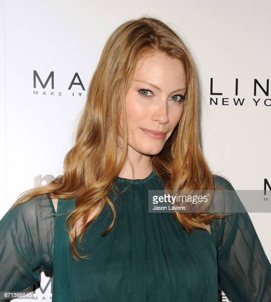 Actress Alyssa Sutherland attends Marie Claire's Fresh Faces event at Doheny Room on April 21 2017 in West Hollywood California