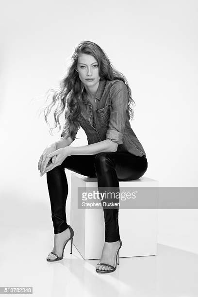 Actress Alyssa Sutherland is photographed for Self Assignment on January 14 2014 in Hollywood California