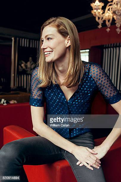 Actress Alyssa Sutherland is photographed for The Wrap on February 23 2016 in Los Angeles California