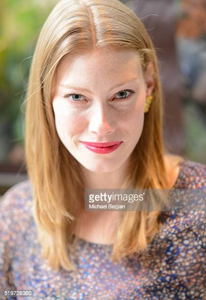 Actress Alyssa Sutherland poses for portait at Empowered Brunch With Cindy Cowan at Four Seasons Hotel Los Angeles at Beverly Hills on April 7 2016...